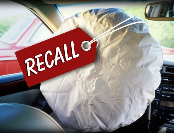 A recalled airbag linked to product liability cases in nh.