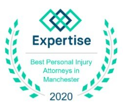 Expertise logo best personal injury attorney in Manchester, NH.